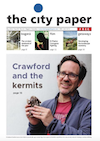 Andrew on front cover of City Paper.